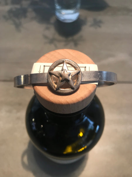 Porter Classic SILVER STAR BANGLE