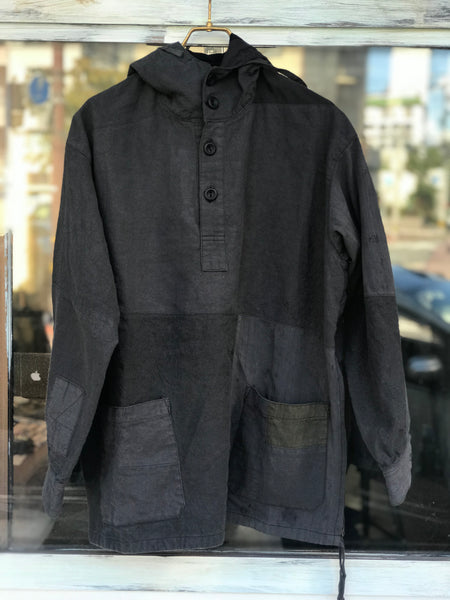 《the works》Linen remake parka 7