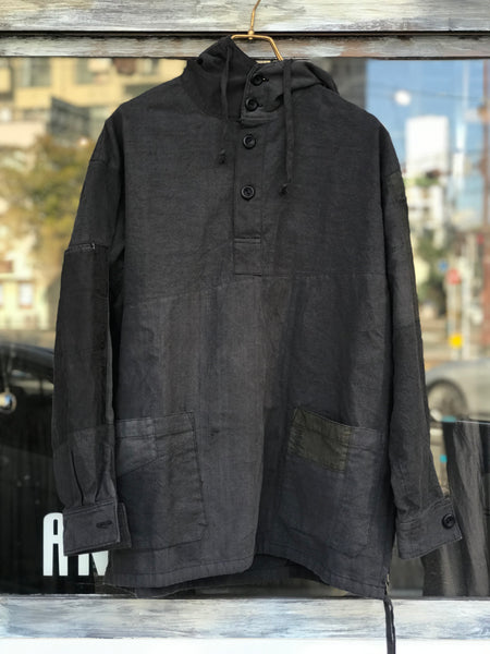 《the works》Linen remake parka 2