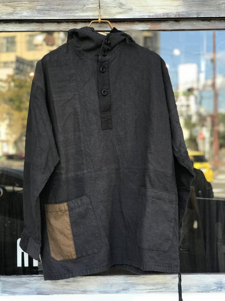 《the works》Linen remake parka 8