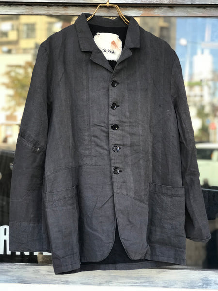 《the works》Linen remake jacket 2