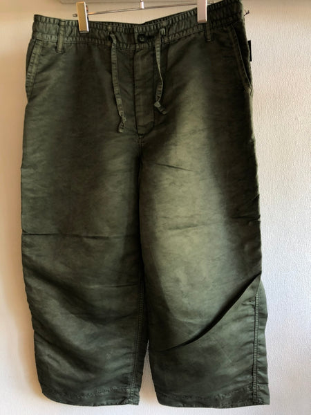 Porter Classic SUPER NYLON MASH WIDE PANTS