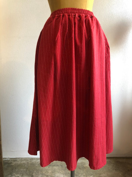 Porter Classic HAPPY RED SKIRT