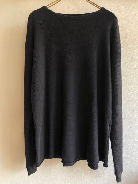 Porter Classic FRENCH THERMAL CREWNECK