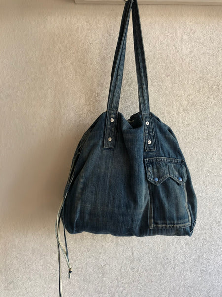 Porter Classic DENIM TOTE BAG