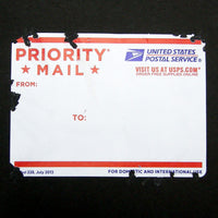 Eggshell USPS 228 sticker