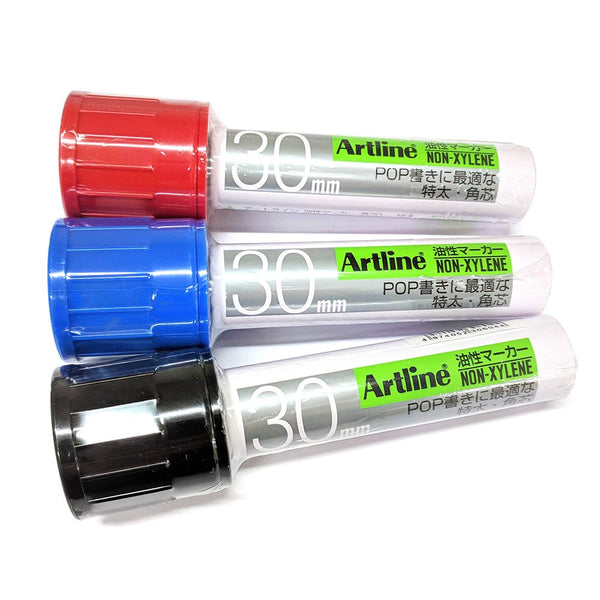 Artline 30mm Wide marker K-123
