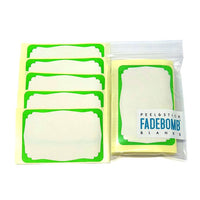 50 FADEBOMB BORDER [No.2] Name Badge Label