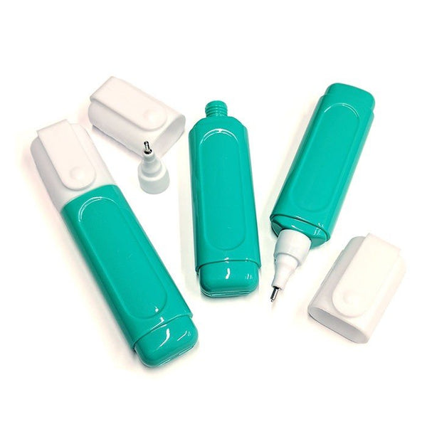 3 Green - 15ml Empty Correction pen Bottle