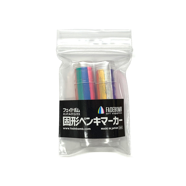 FB Mini 8color mix paint stick marker (2 markers per pack)