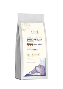 Sungai Ruan - 72% Dark Chocolate Buttons (1.5kg)