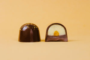 Speckled! The Salted Egg Yolk Chocolate Bon Bon