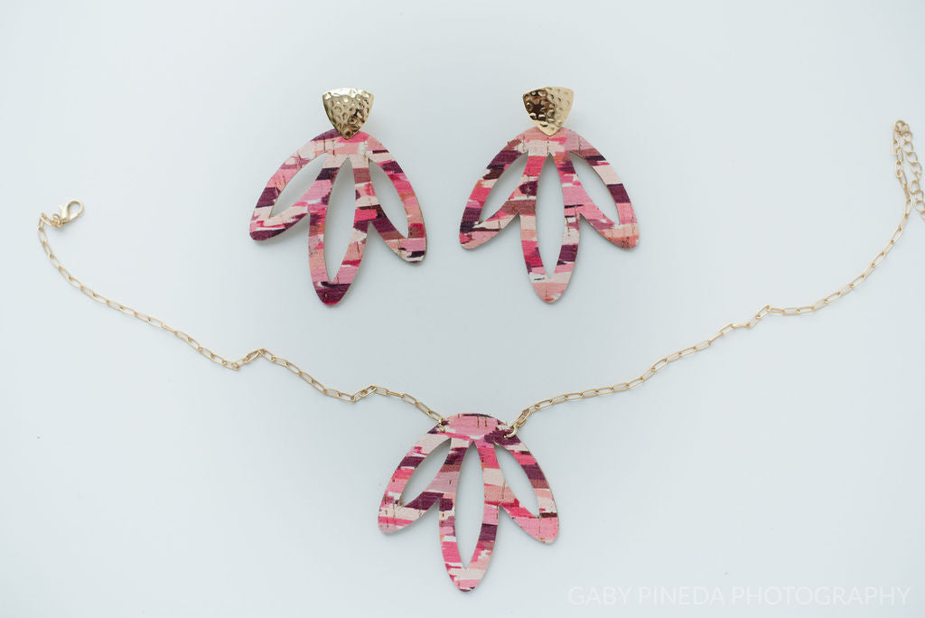 Lily Petal Necklace