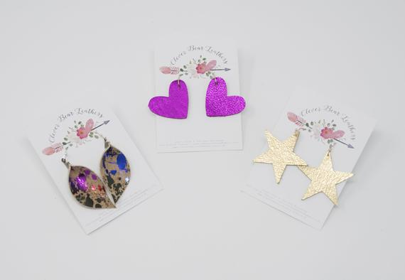 Little Girls' Collection - Tiny Leaves, Hearts & Stars
