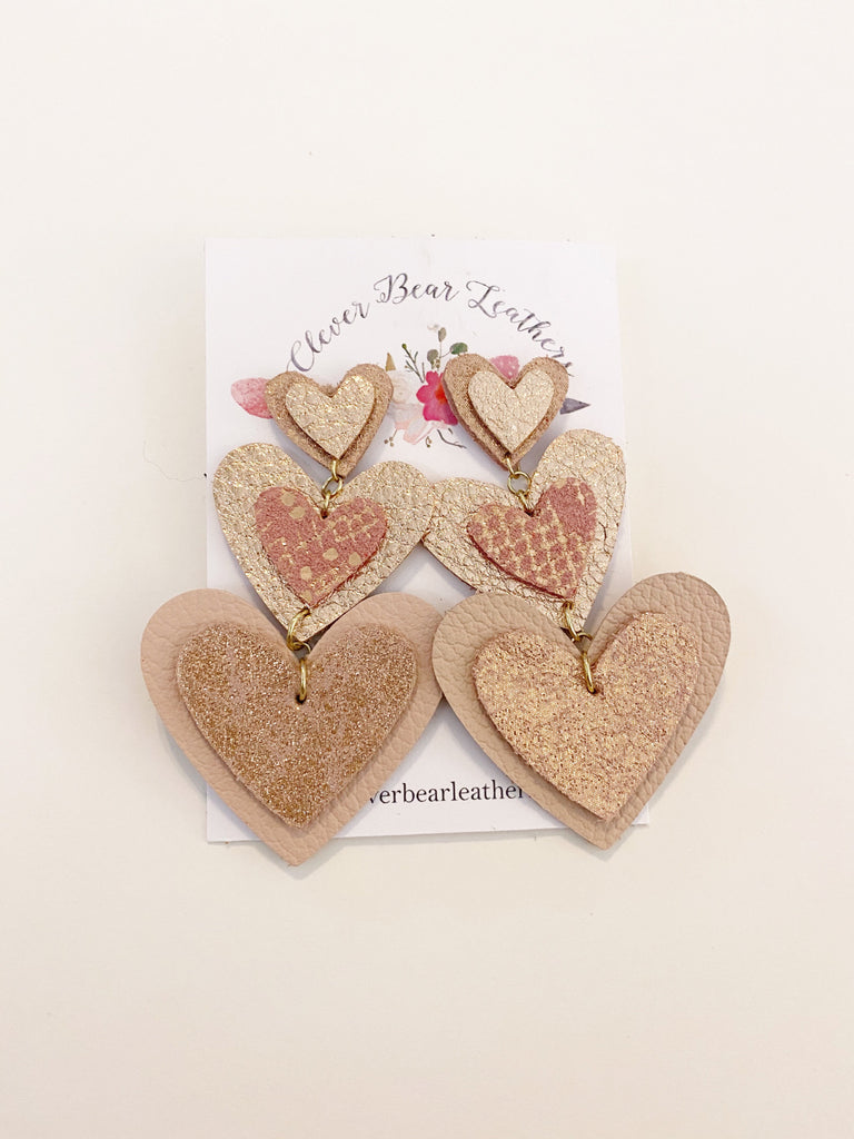 Triple Tiered Hearts