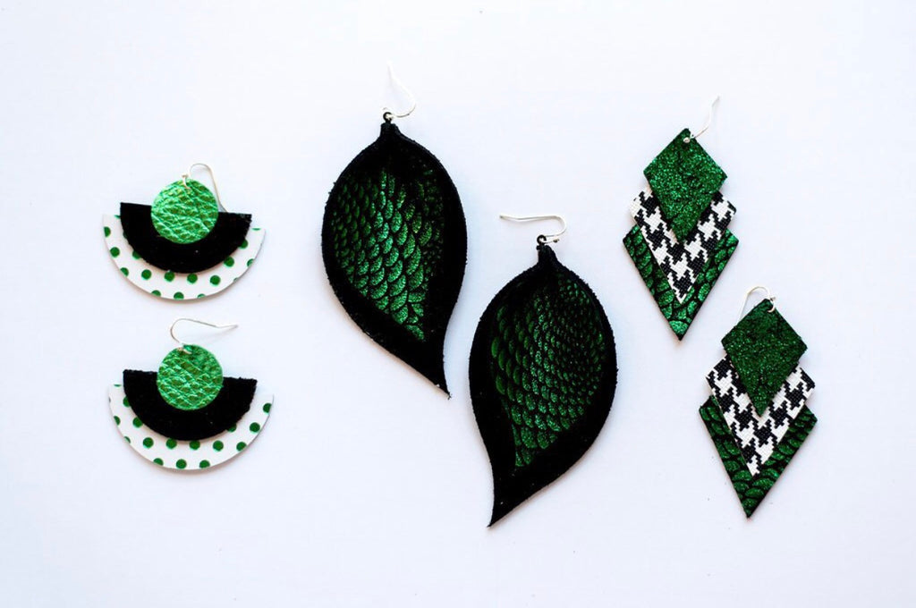 Southlake Carroll Dragons Game Day Spirit Earrings