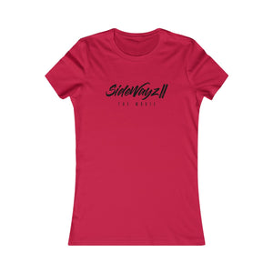 """SideWayz II The Movie"" Policy Classic Tee (Red)"