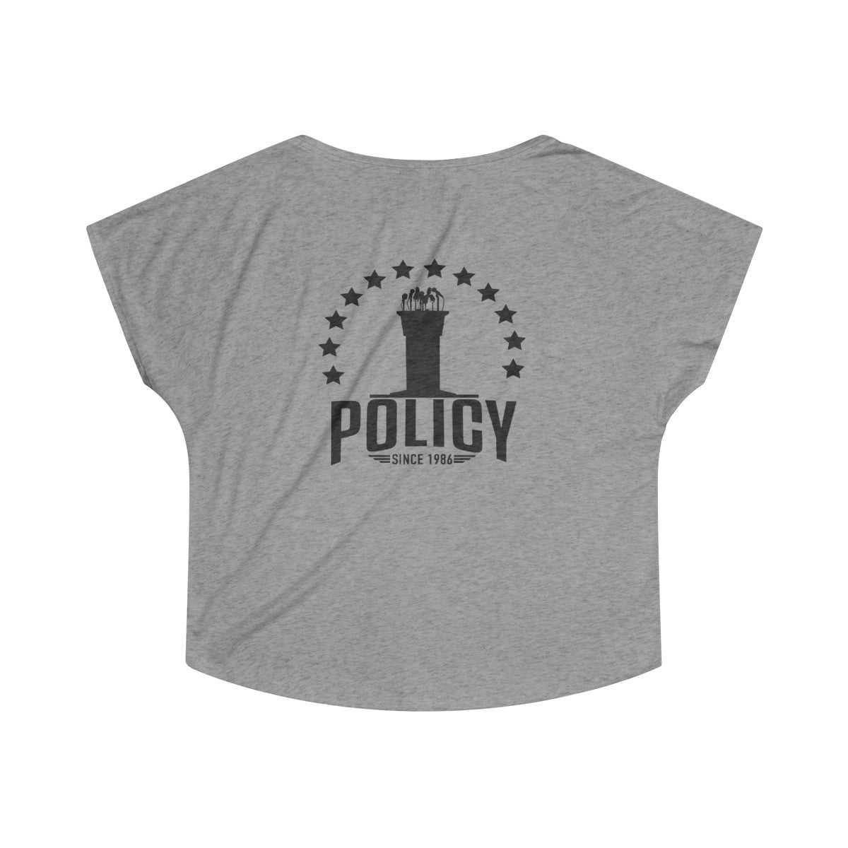 """SideWayz II The Movie"" Tri-Blend Policy Dolman (Heather)"