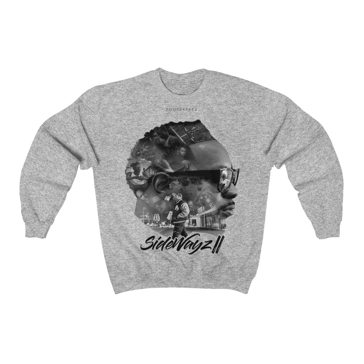 "Copy of ""SideWayz II The Movie"" Crewneck Sweatshirt"