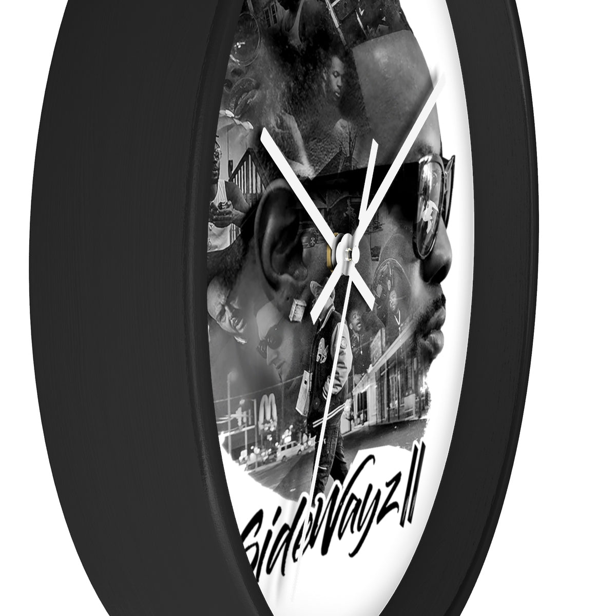 """SideWayz II The Movie"" Wall clock"