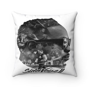"14""X14"" ""SideWayz II The Movie"" Square Pillow"
