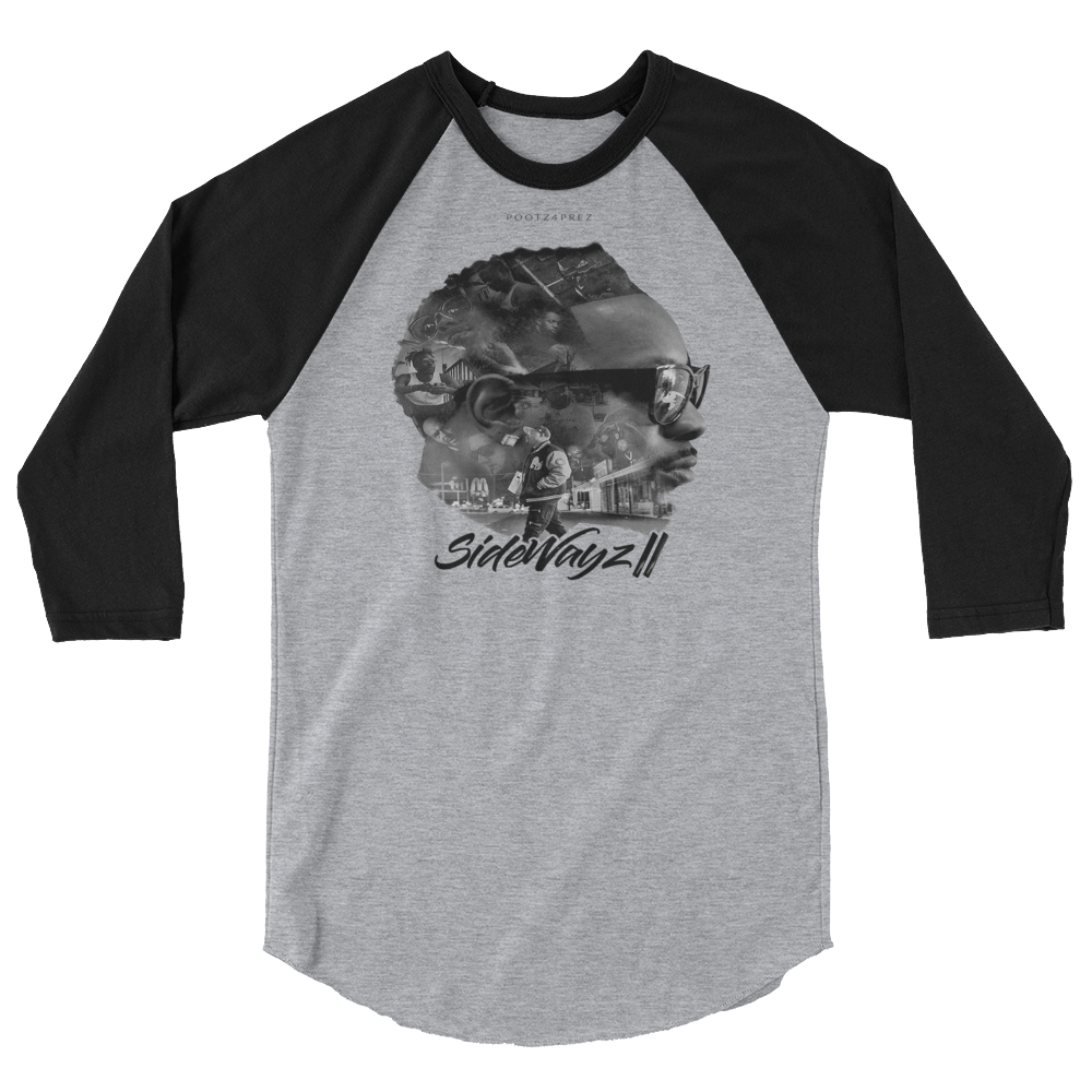 """SideWayz II The Movie"" Raglan"