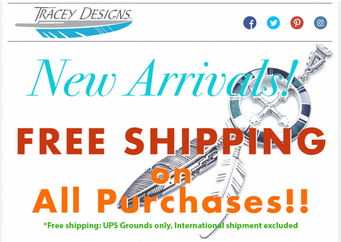 Tracey Designs New Products Free Shipping