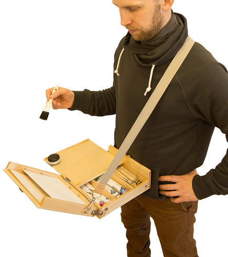 Travel Painter Pochade Box | Tripod-Free Pochade for Comfortable Plein-Air Trips