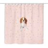 Cavalier Pink Shower Curtain