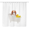 Bath Time Cavalier 2 Shower Curtain