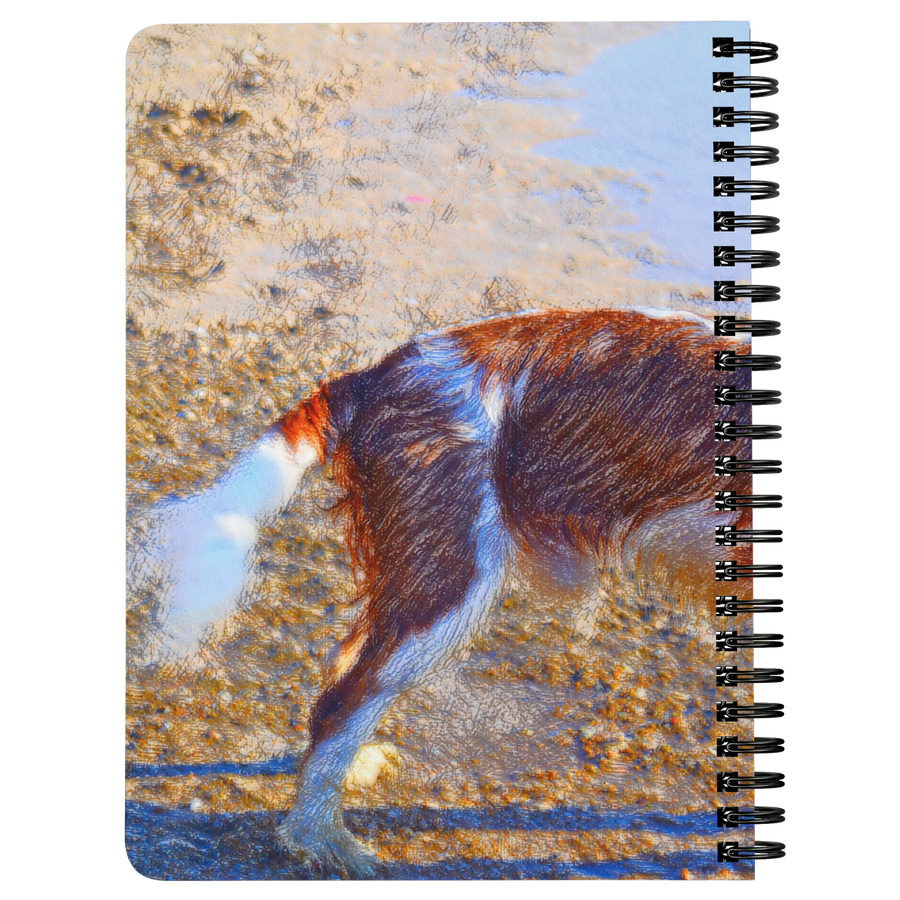 Playful Spaniel Spiralbound Notebook