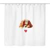 Cavalier Love Shower Curtain