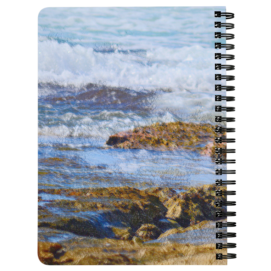Spaniel Love Beach Spiralbound Notebook