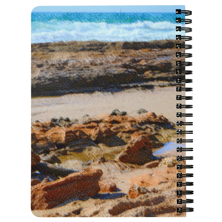 Spaniel Family Beach Spiralbound Notebook