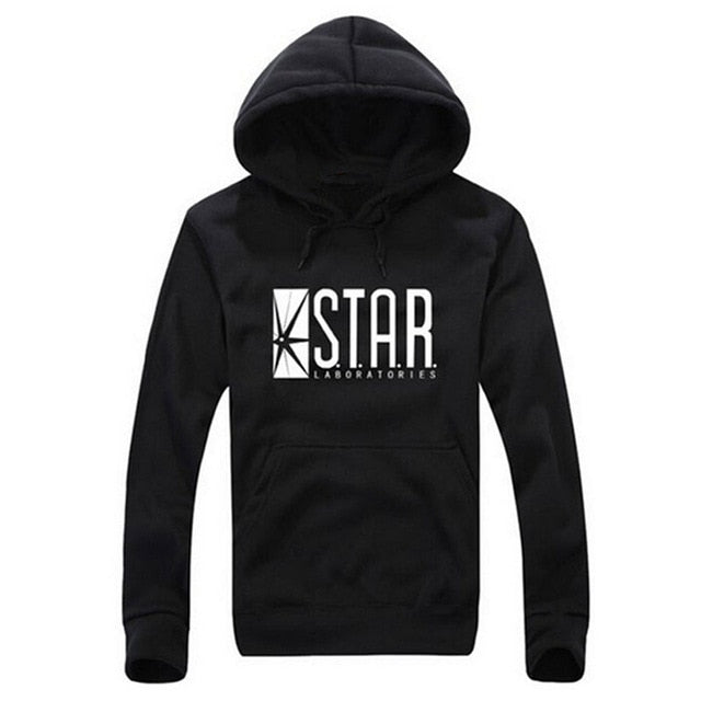 STAR labs black women/Men Hooded Hoodies Male sweatshirt jumper the flash gotham city comic books superman tv series hoody-novahe