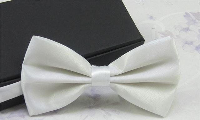 2017 Men's Ties Fashion Tuxedo Classic Mixed Solid Color Butterfly Tie Wedding Party Bowtie Bow Tie Ties for Men Gravata LD8006-novahe