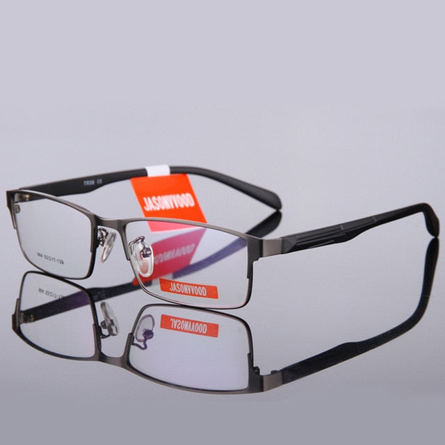 BELMON Eyeglasses Frame Men Computer Optical Eye Glasses Spectacle Frame For Male Transparent Clear Lens Armacao de RS009-novahe