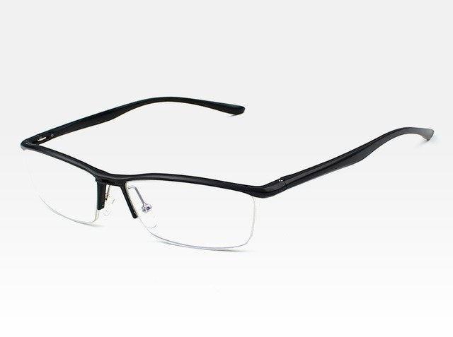 Aluminum Magnesium Anti Blue Laser Fatigue Radiation-resistant Men's Optical Eyeglasses Glasses Frame Oculos de grau Eyewear 130-novahe