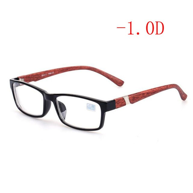 Cool New Fashion Women's Men's Finished Flower Legs Red Myopia Glasses Eyewear-100 -150 -200 -250 -300 -350 -400 6801-novahe