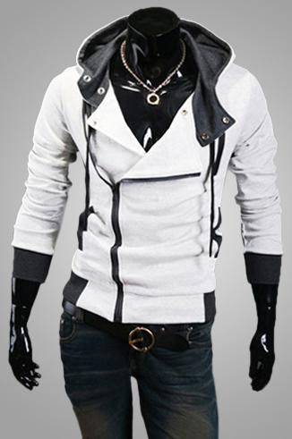 KOSMO MASA 2017 Cotton Blend Casual Slim Cardigan Assassin Creed Men Hoodies Sweatshirt Outerwear Jackets MHS0002-novahe