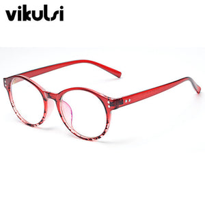 Vintage Round Glasses Men Women Flower Rivet Frame With Clear Lens Glasses  Eyewear Retro Female Optics 13bd30c92f