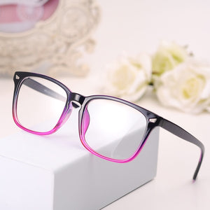 BOYEDA New Eyeglasses Men Women Suqare Brand Designer Eyewear Frame Optical Computer Female Transparent Eye Glasses Frame Oculos-novahe