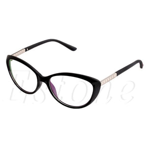 Women Optical Glasses Spectacle Frame Cat Eye Eyeglasses Anti-fatigue Computer Reading Glasses Eyewear Oculos Glasses frames Hot-novahe