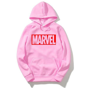 RUMEIAI Brand 2017 New Women/Men's Casual Marvel Print Hedging Hooded Fleece Sweatshirt Hoodies Pullover clothing Size M-XXL-novahe