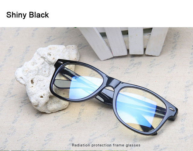 Glasses for The Computer Spectacle Frame Men Women Transparent Eyeglasses Clear Lenses Oculos Anti Blue Ray Coating-novahe