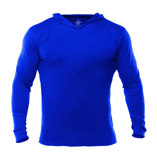 Mens Bodybuilding Hoodies Golds Gyms Clothing Workout Slim Fit Sweatshirts Male Hooded Tracksuit Boys Sportswear Cotton-novahe