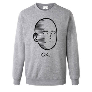 One Punch Man Men and Women Hoodies Anime ONE Oppai Hoodies ONE PUNCH-MAN re-make Fleece Jacket Harajuku Sweatshirts-novahe