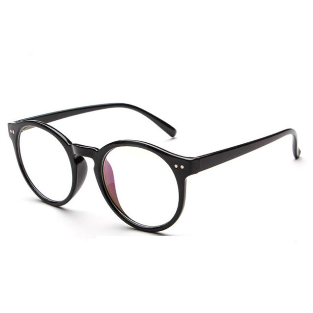 c4ed6f20242 YOOSKE Glasses Frame New Retro Fashion Literary Small Fresh Round Glasses  Frame Luxury For Men And