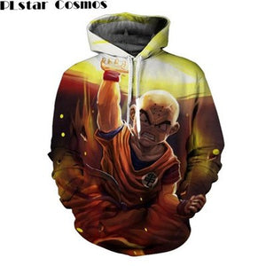PLstar Cosmos Dragon Ball Z DBZ Pocket Hooded Sweatshirts 3D Super Saiyan Hero Hoodies Pullovers Harajuku Men Women Outerwear-novahe