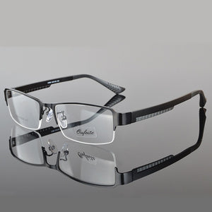Spectacle Frame Eyeglasses Men Nerd Computer Myopia Prescription Optical Clear Eye Glasses Frame For Male Transparent Lens RS038-novahe